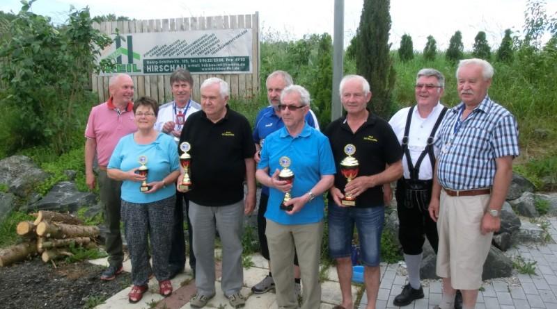 Siegerehrung RWK Ältestenschießen