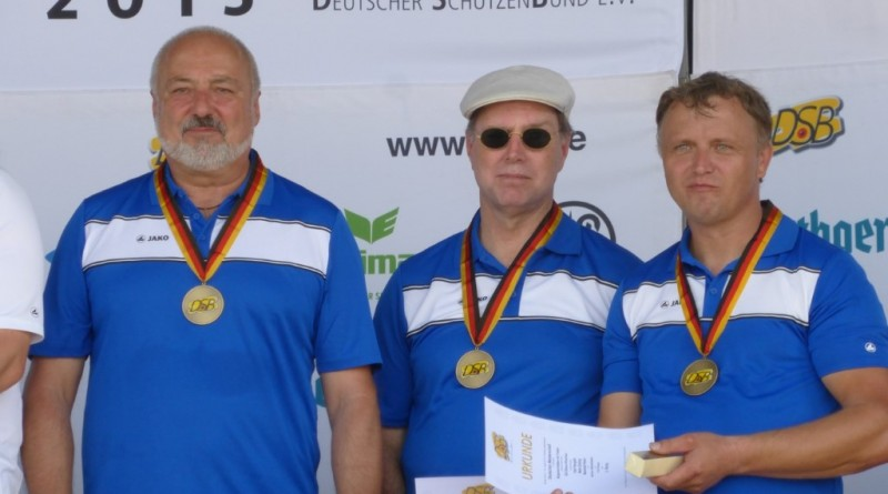 Deutsche Meisterschaft WA 2015