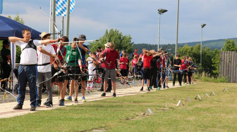 Landesmeisterschaft FITA 2. Juli. 2017