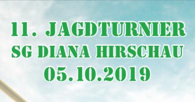 11. Jagdturnier 5. Oktober 2019