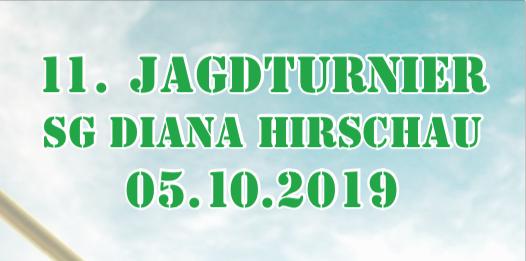 11. Jagdturnier 5.10.2019 in Hirschau